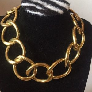 Chanel necklace very rare vintage runway piece